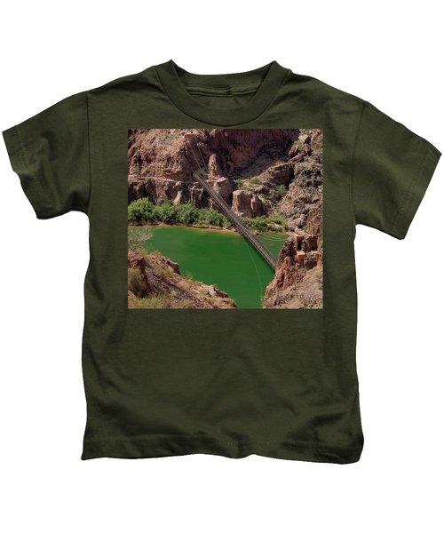 Black Bridge, Grand Canyon  Kids T-Shirt