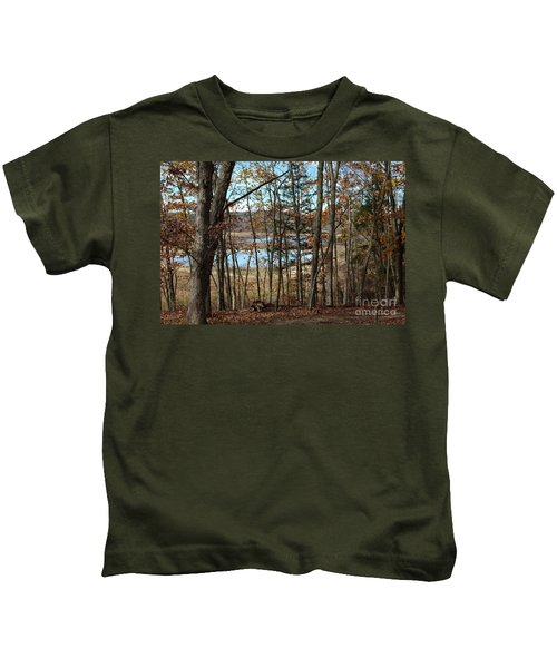 Black Rock Flats From The Mary Ann Kids T-Shirt