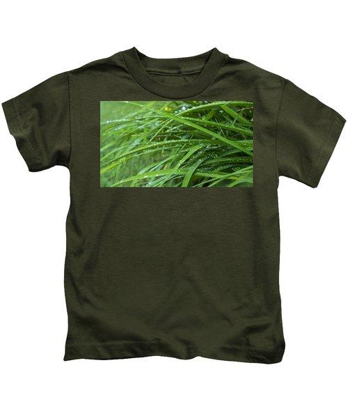 Blades And Rain Kids T-Shirt