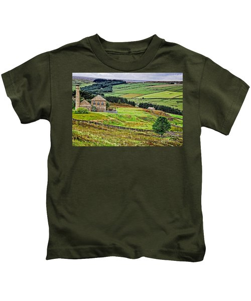 Blanchland Moor Pumphouse Kids T-Shirt