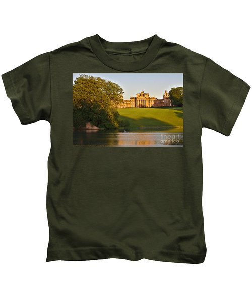 Blenheim Palace And Lake Kids T-Shirt