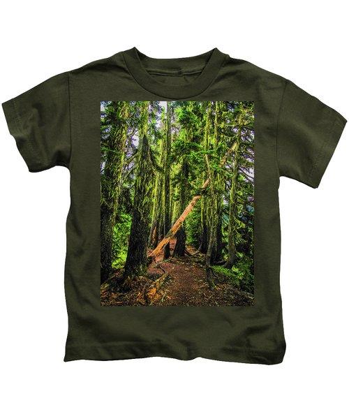 Blocked Trail Kids T-Shirt