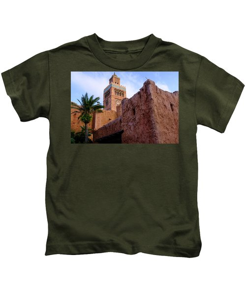 Blocks And High Tower Architecture From Orlando Florida Kids T-Shirt