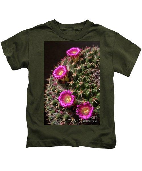 Blooming Cactus Kids T-Shirt