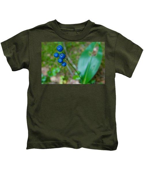Blue Berries Kids T-Shirt