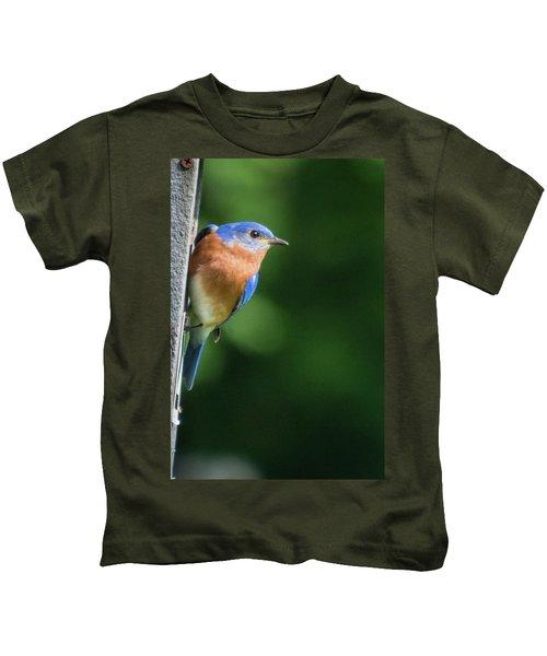 Blue Bird Kids T-Shirt