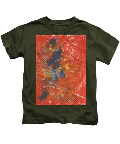 Blue Dancer Kids T-Shirt