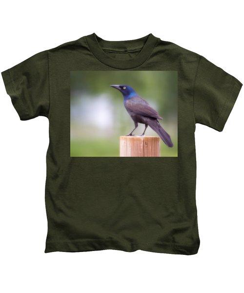 Blue Head Kids T-Shirt
