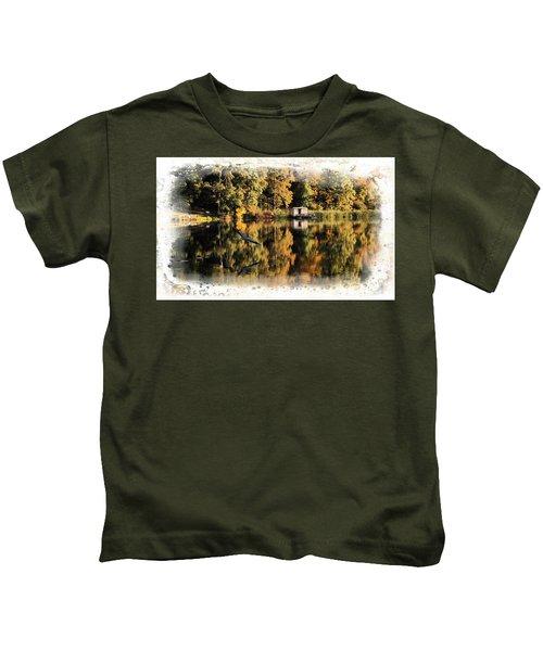 Blue Heron Kids T-Shirt
