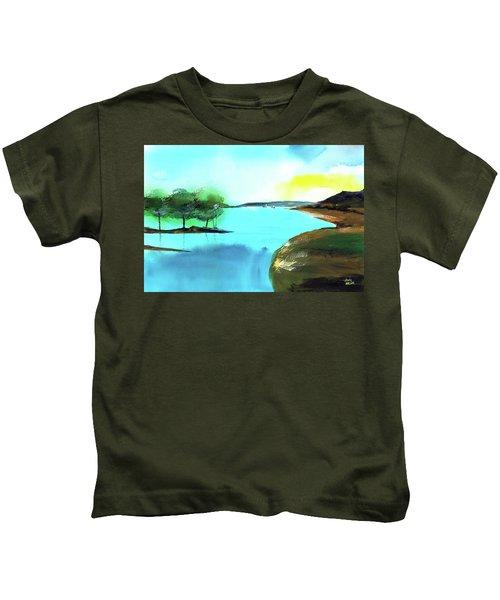 Blue Lake Kids T-Shirt