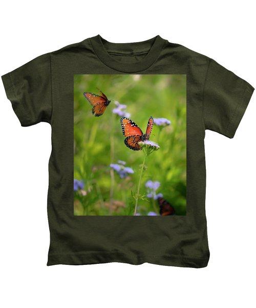Blue Mist Lunch Date Kids T-Shirt