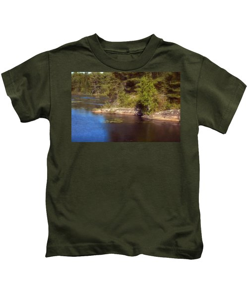 Blue Pond Marsh Kids T-Shirt