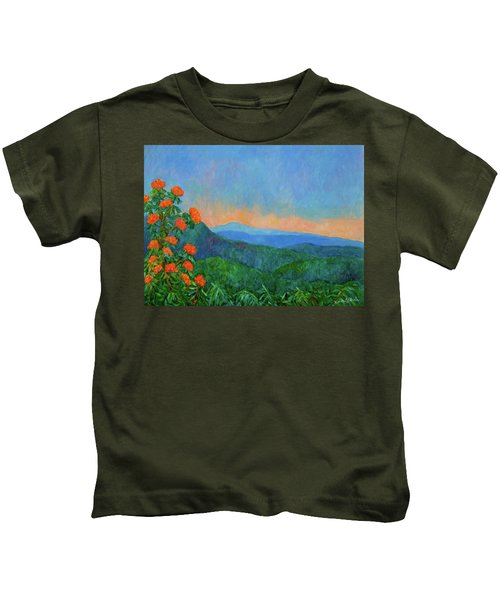 Blue Ridge Morning Kids T-Shirt