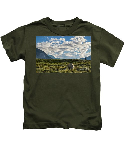 Blue Sky Monmouth  Kids T-Shirt
