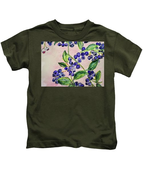 Blueberries Kids T-Shirt