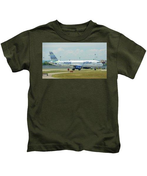 Bluemanity-2 Kids T-Shirt