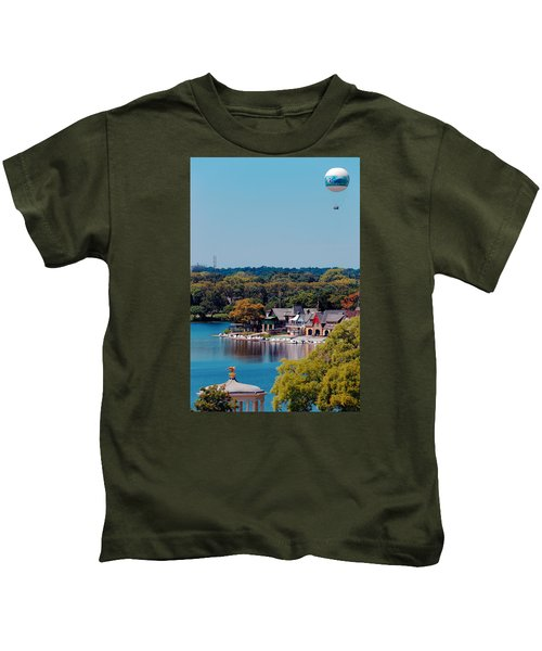 Boat House Row Kids T-Shirt