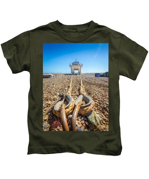 Boat Ropes. Kids T-Shirt