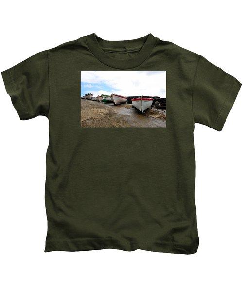 Boats,fishing-24 Kids T-Shirt