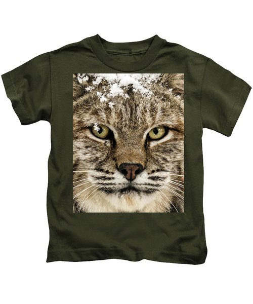 Bobcat Whiskers Kids T-Shirt