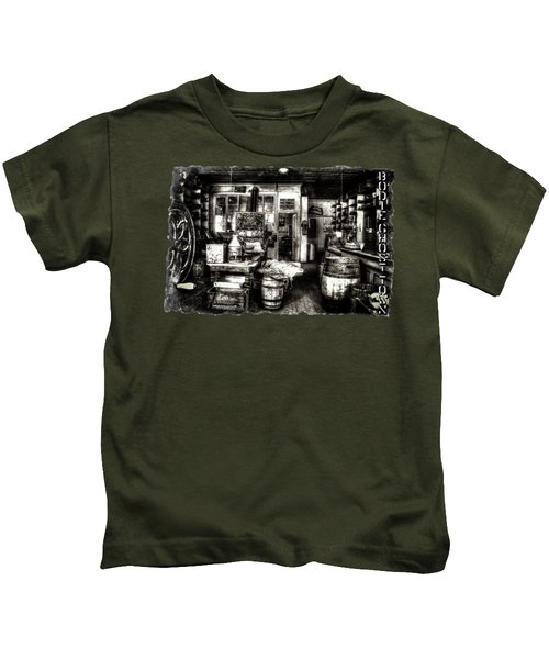 Bodie Ghost Town General Store Kids T-Shirt
