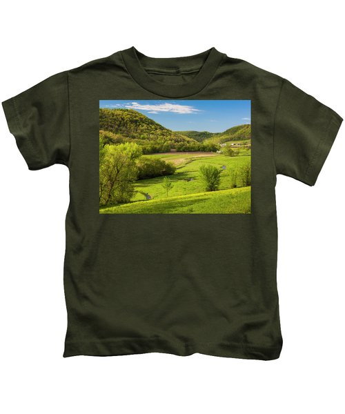 Bohemian Valley Kids T-Shirt