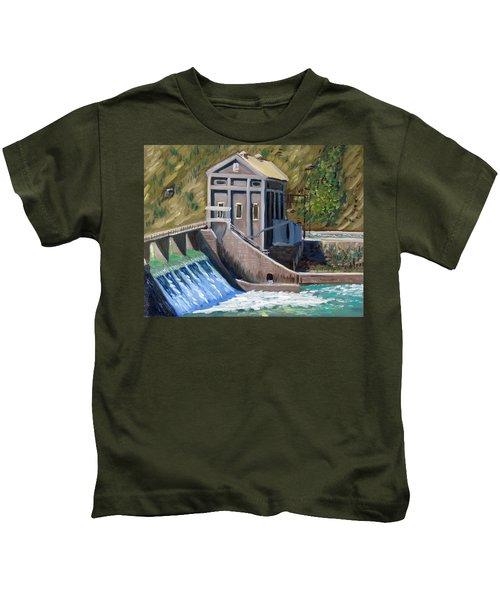 Boise Diversion Dam Kids T-Shirt