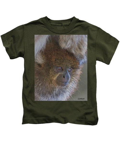 Bolivian Grey Titi Monkey Kids T-Shirt