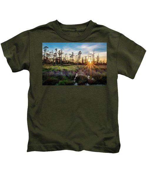 Bonnet Carre Sunset Kids T-Shirt
