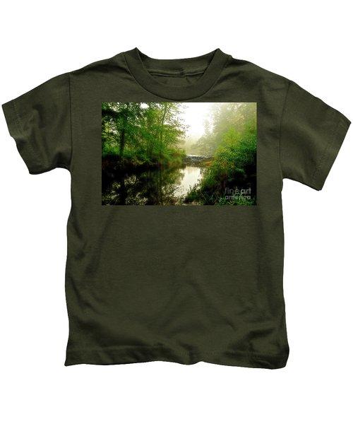 Bonneyville Mills Waterfall Kids T-Shirt