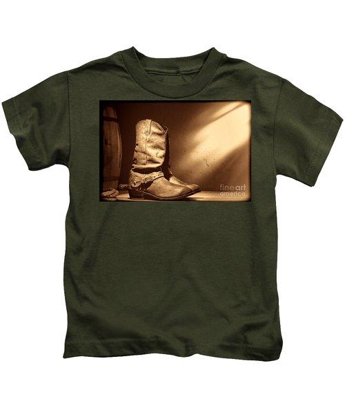 Boots At The Hacienda  Kids T-Shirt