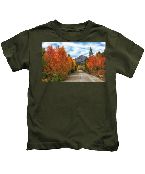 Boreas Mountain Kids T-Shirt