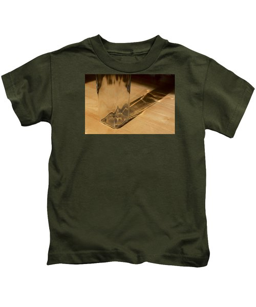 Bottle And Shadow 0925 Kids T-Shirt
