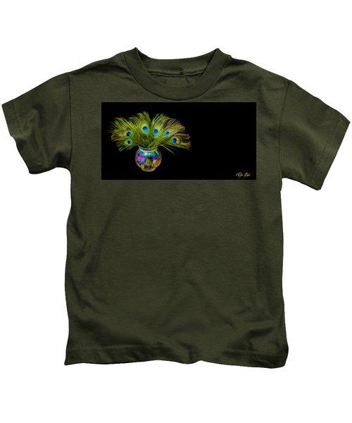 Bouquet Of Peacock Kids T-Shirt