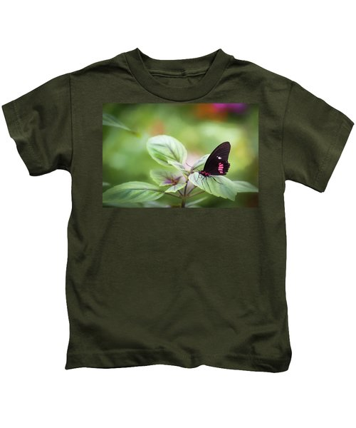 Brave Butterfly  Kids T-Shirt