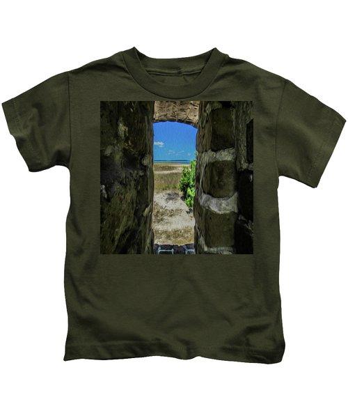 Break Free Of Your Walls Kids T-Shirt