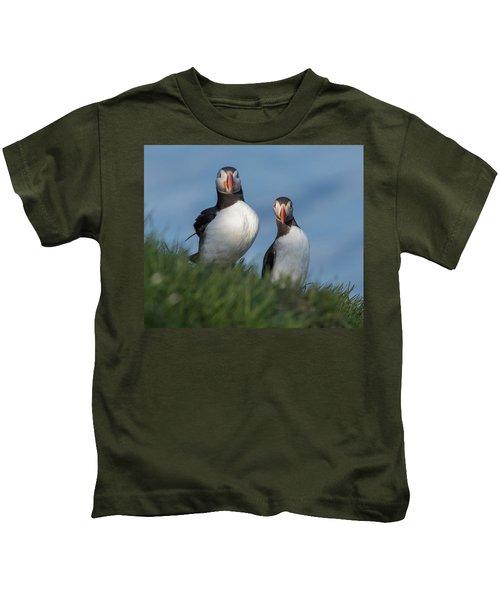 Breast Implants Humor Kids T-Shirt