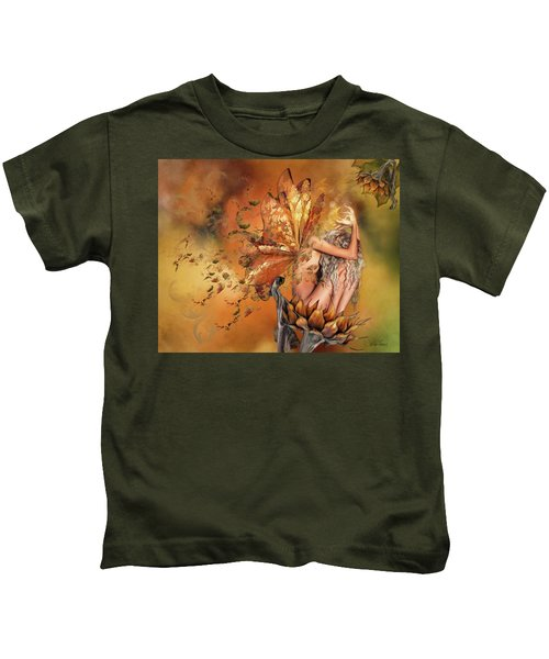 Breath Of Autumn Kids T-Shirt