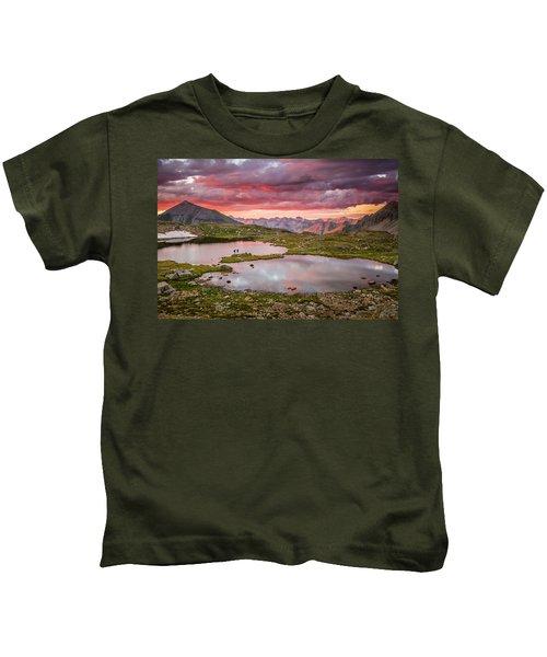 Bridal Veil Basin Kids T-Shirt
