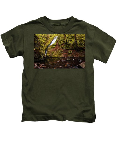 Bridal Veil Falls Kids T-Shirt