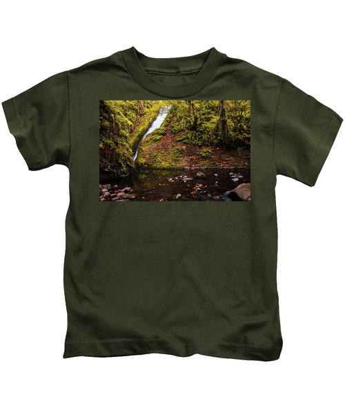 Bridal Veil Falls Kids T-Shirt