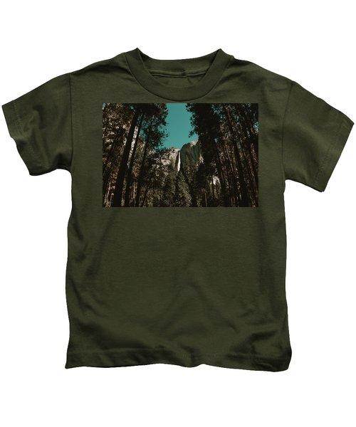Bridalveil Falls Kids T-Shirt
