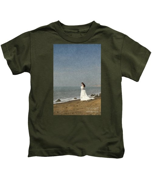 Bride By The Sea Kids T-Shirt