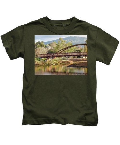 Bridge Over The Creek Kids T-Shirt