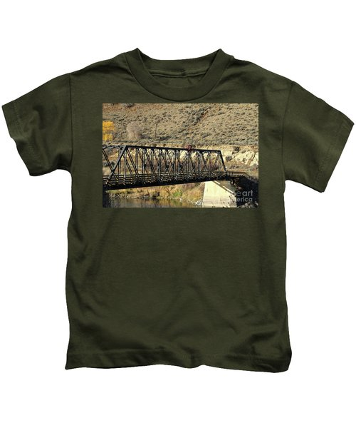 Bridge Over The Thompson Kids T-Shirt