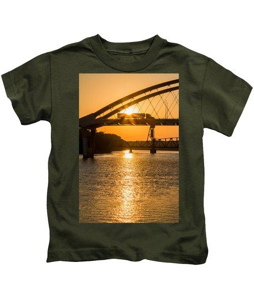 Bridge Sunrise #2 Kids T-Shirt