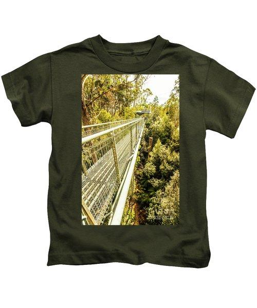 Bridging Forests  Kids T-Shirt
