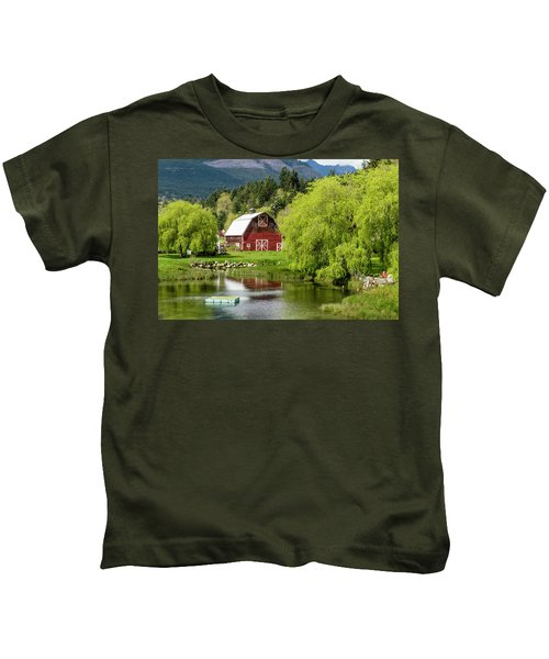 Brinnon Washington Barn Kids T-Shirt