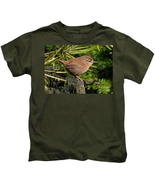 British Wren Kids T-Shirt