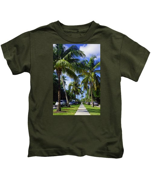 Broad Avenue South, Old Naples Kids T-Shirt